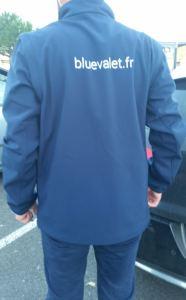 voiturier blue valet
