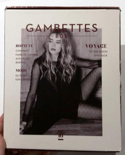 gambettes box decembre