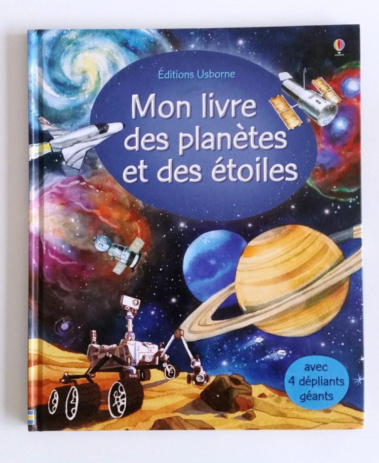 mon livre des planetes et des etoiles