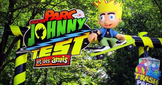 Le nouveau parc de manèges du Zoo de Granby qui met en vedette Johnny Test et ses amis.