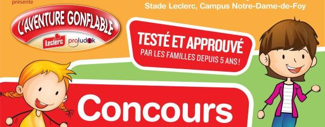 Aventure Gonflable Leclerc Proludik
