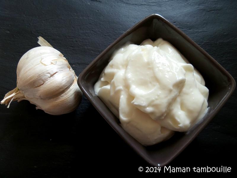 Sauce blanche  lail libanaise Maman Tambouille