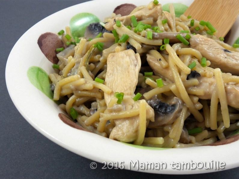 one pot pasta poulet gorgonzola13