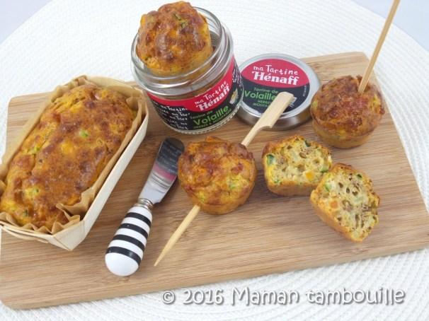 cake aux legumes et terrine henaff21