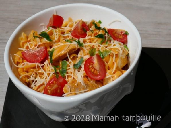 one pot pasta poulet06