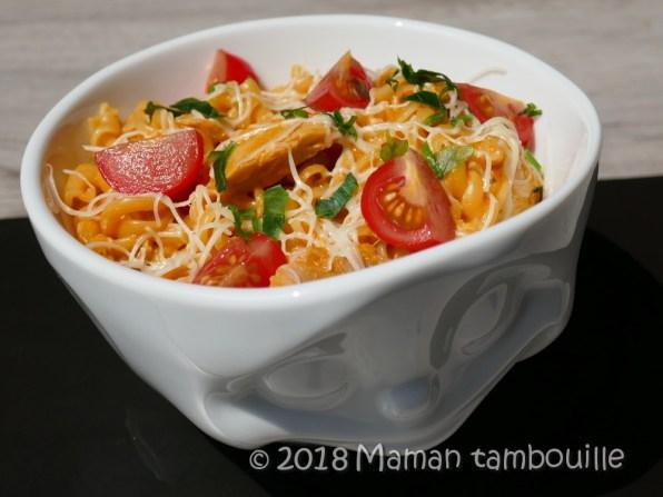 one pot pasta poulet07