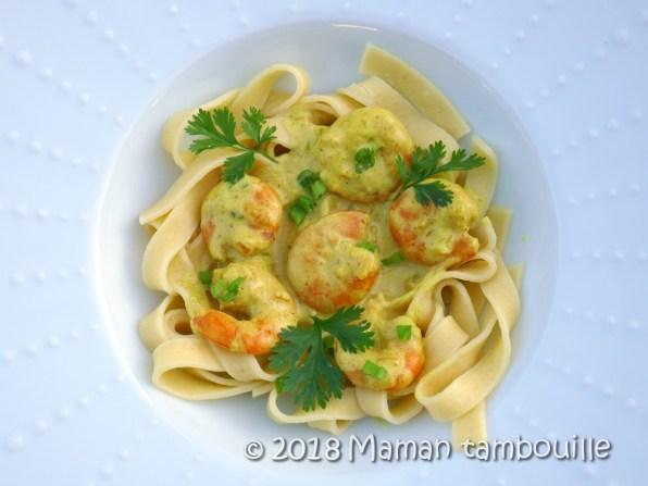 pates au curry de crevettes10