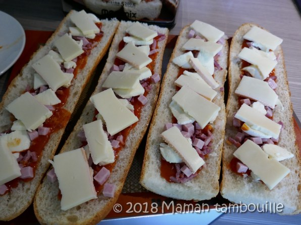 baguette pizza raclette04