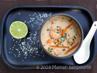 soupe thai aux crevettes13