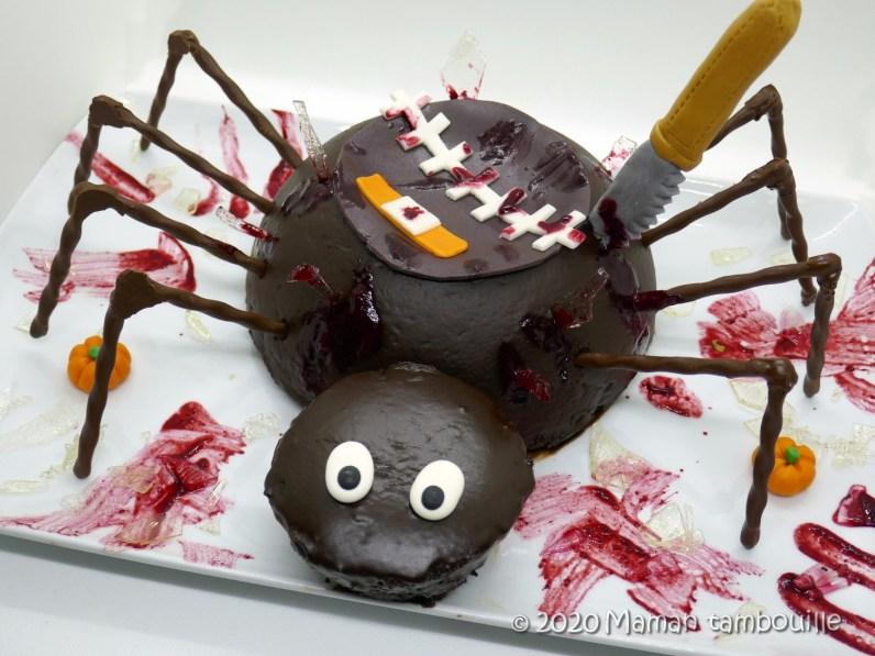 gateau araignée44