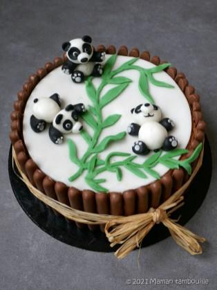 gateau panda25