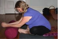 butterfly pose prenatal yoga