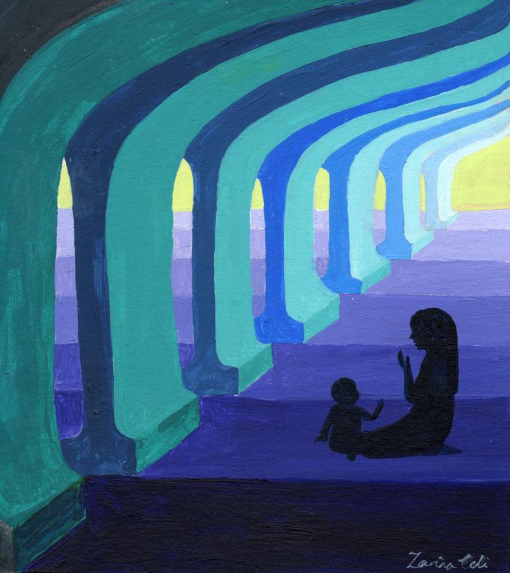 I Am The Guardian of My Prayer || Mamanushka.com || Art by Zarina Teli