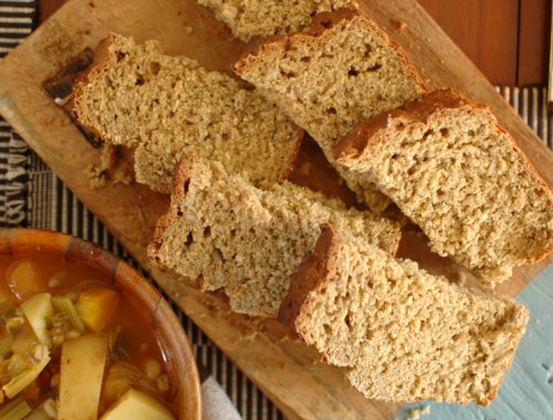 MAMANUSHKA.com    The Ultimate Homemade Loaf: A Bread Recipe For Real Life    EASY & DELICIOUS    Yeast-free    Baking With Kids