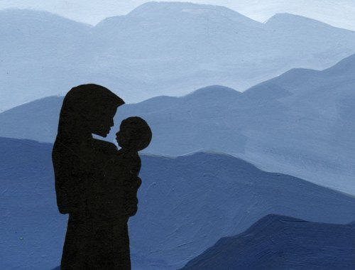 MAMANUSHKA.com || How to Support A Parent Grieving The Loss of Their Child || What To Do & Say When The Unthinkable Happens || Child Loss || Illustration by Zarina Teli