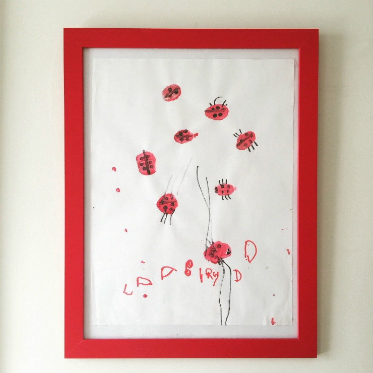 kids-room-decor-red-ladybug-frame-via-mamanushka-blog
