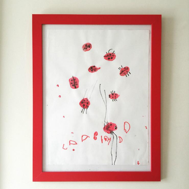 kids-room-decor-red-ladybug-frame-via-mamanushka-blog