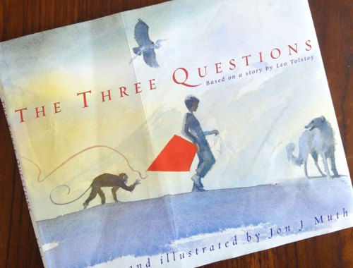 MAMANUSHKA.com || The Three Questions: A Timeless Fable On How To Be Good || Jon J. Muth || Picturebooks || Watercolor
