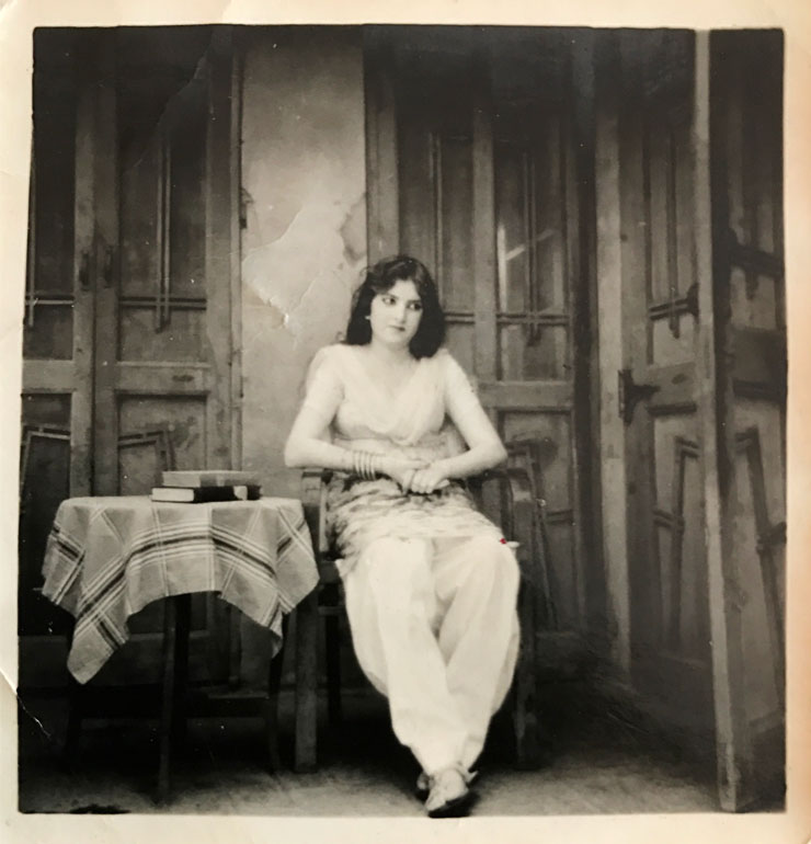 MAMANUSHKA.com    Things Parents Say    Hina Belitz    My Glimpse Beyond Death The Year Mum & Dad Passed Away    Vintage Portrait    India