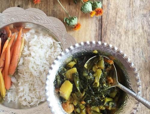 MAMANUSHKA.com || Oulve t'Haakh || Authentic Kashmiri Greens || Recipe || World Cuisine