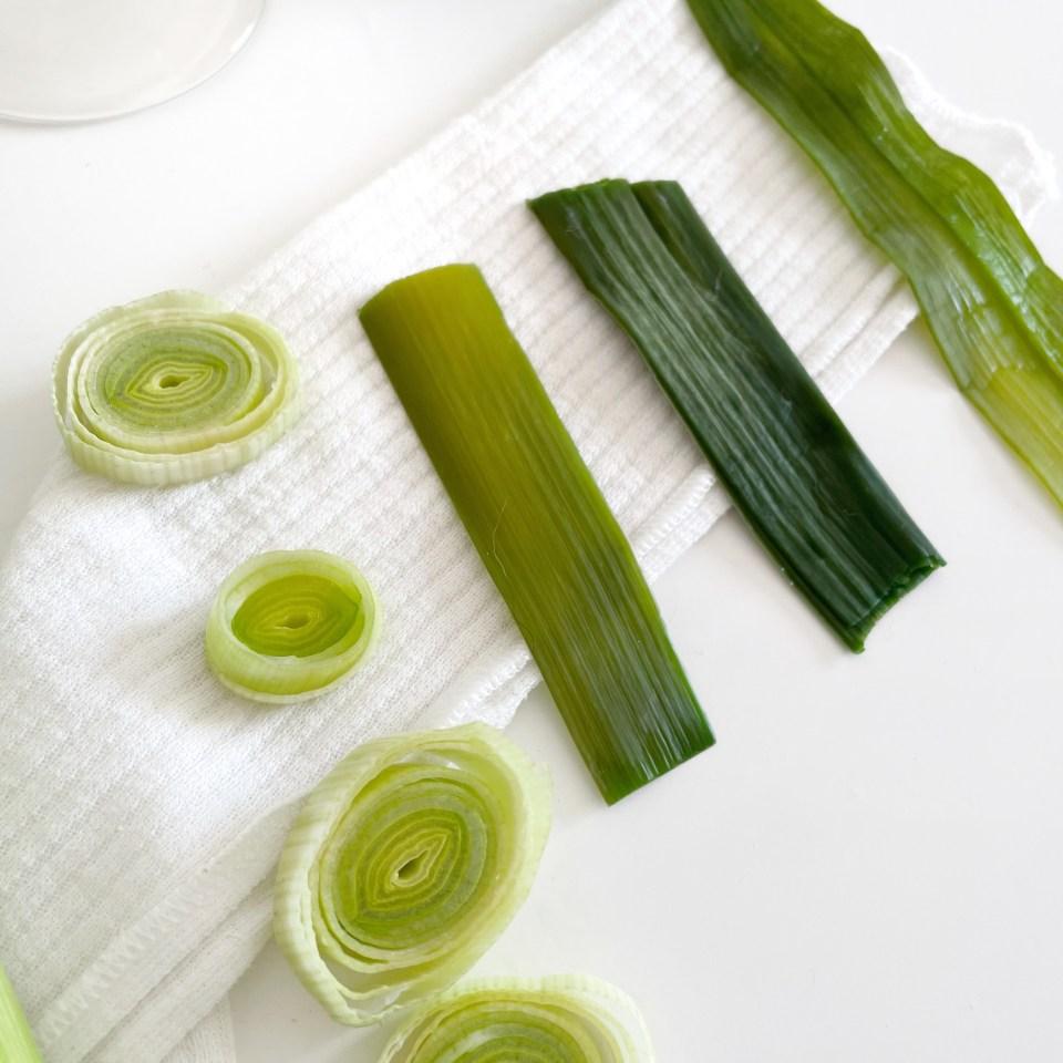 remèdes naturels au vert de poireau masque visage anti-acné