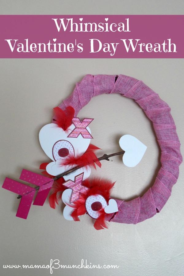 Dollar Tree Craft Idea Whimsical Valentine S Day Wreath