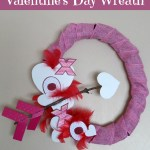 Dollar Tree Craft Idea: Whimsical Valentine's Day Wreath