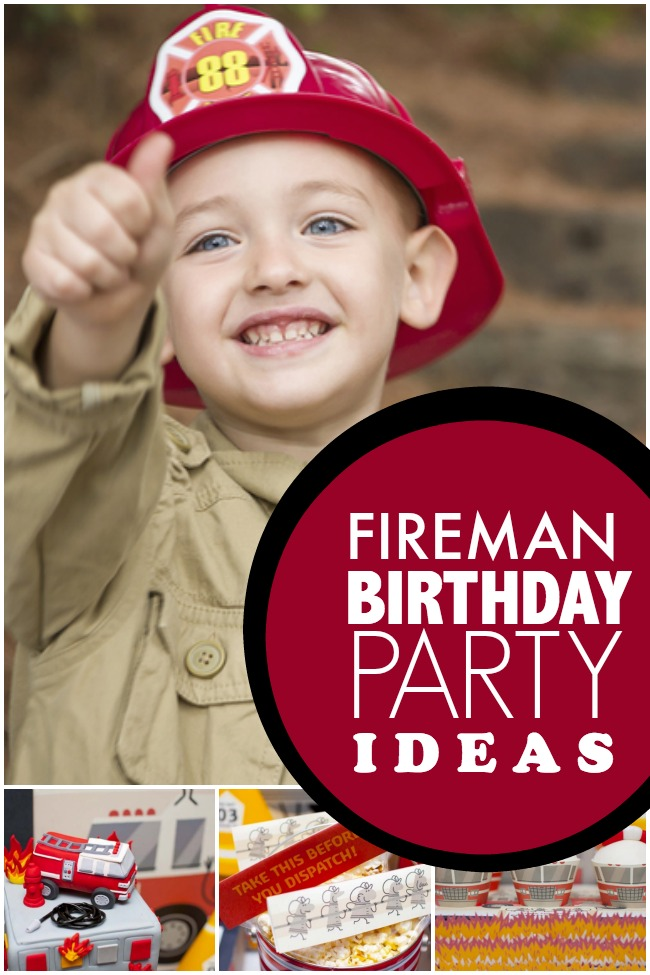 Surefire Party Tips for an Awesome Fireman Themed Birthday Party