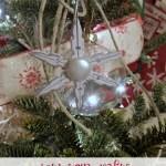 DIY Miniature Clothespin Snowflakes