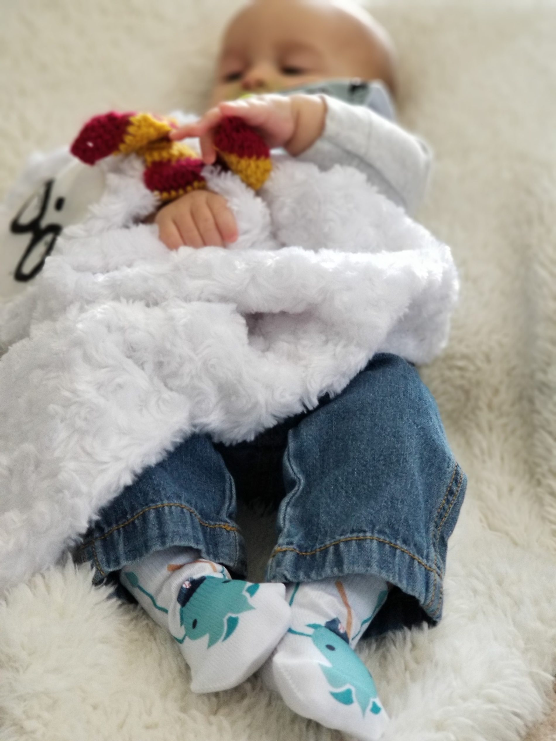 Baby Socks that stay on baby's feet!
