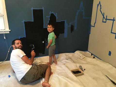 Mama of Both Worlds - DIY Superhero Room Redux on a Budget