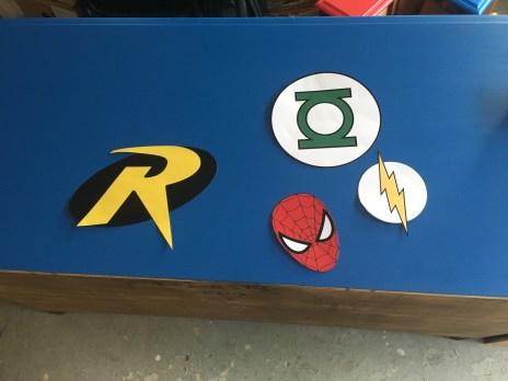 Mama of Both Worlds - DIY Superhero Room Dresser Upcycled
