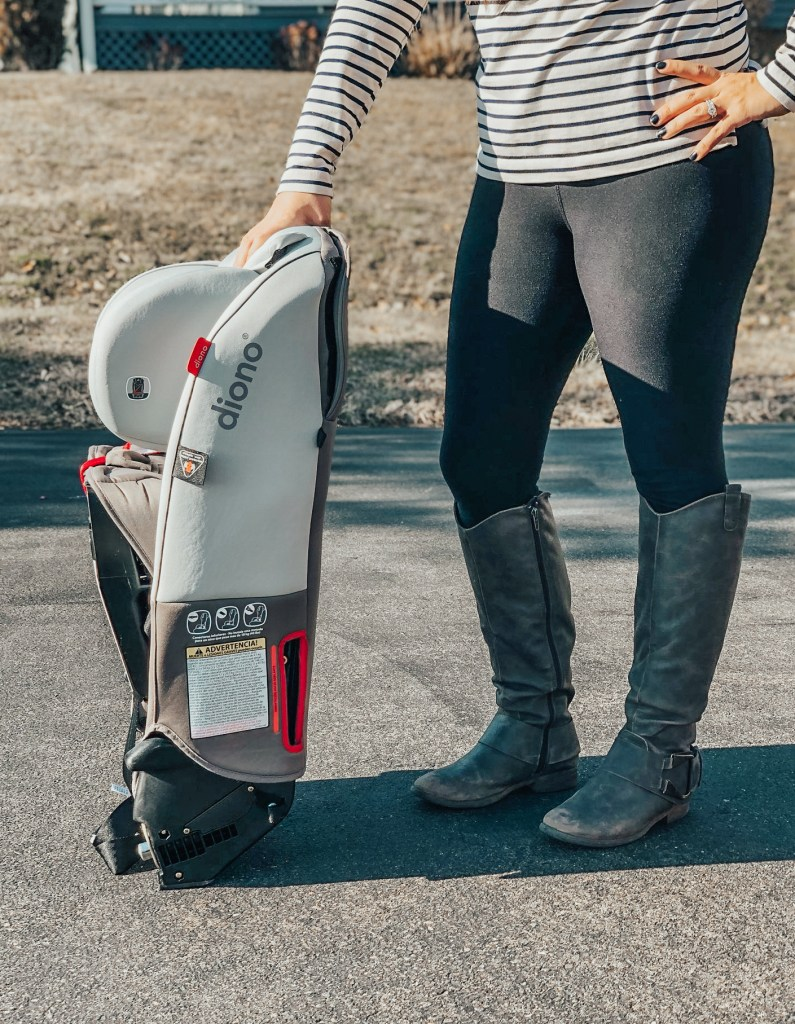 Mama of Both Worlds: Our Diono Car Seat Review