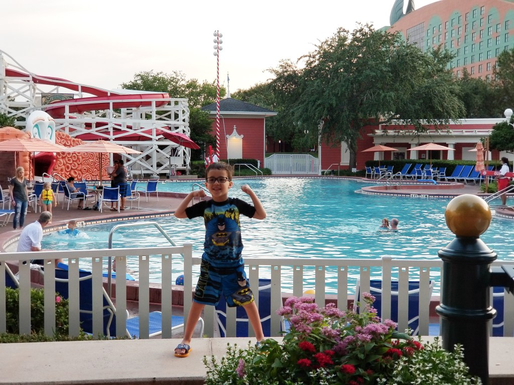 Mama of Both Worlds: Disney's Boardwalk Villas Pool