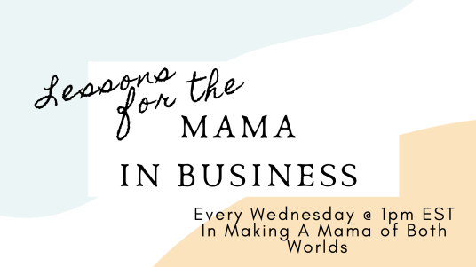Mamas in Business Facebook Group