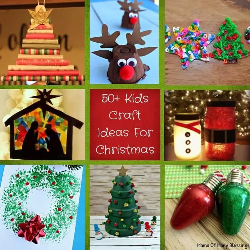 Christmas Ornaments Craft For Kids