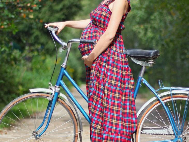 voznja bicikla u trudnoci