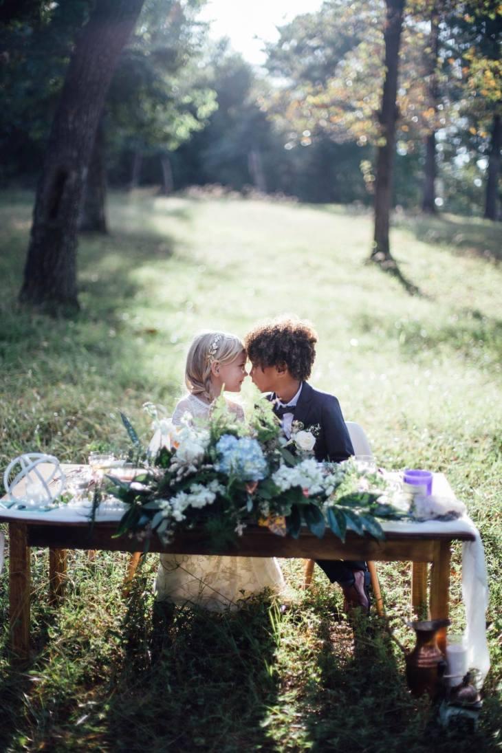 vjencanje djeca poziranje