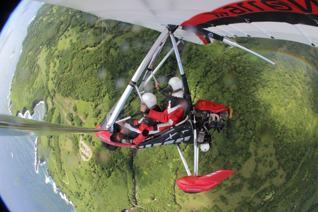 Road to Hana On The Glow Guide Hang Gliding