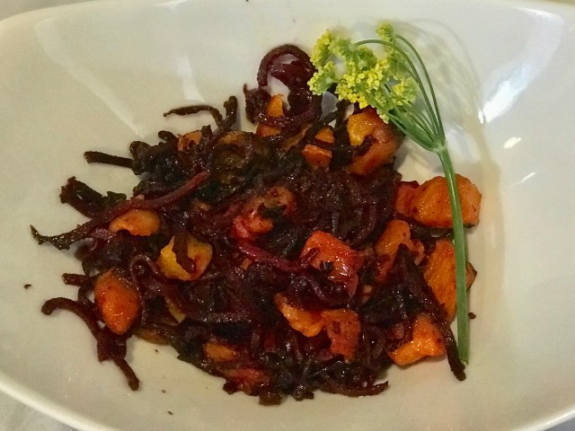 Roasted Beets And Butternut Squash