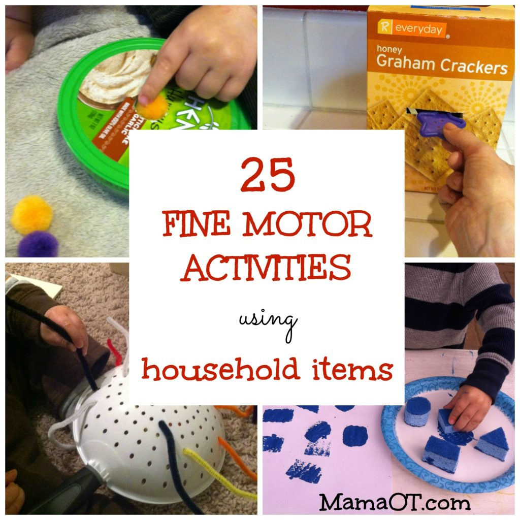 Occupational Therapy Fine Motor Goals