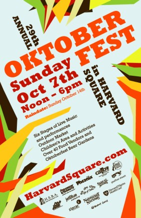1) Mama Rocks Oktoberfest, Harvard Square, Boston