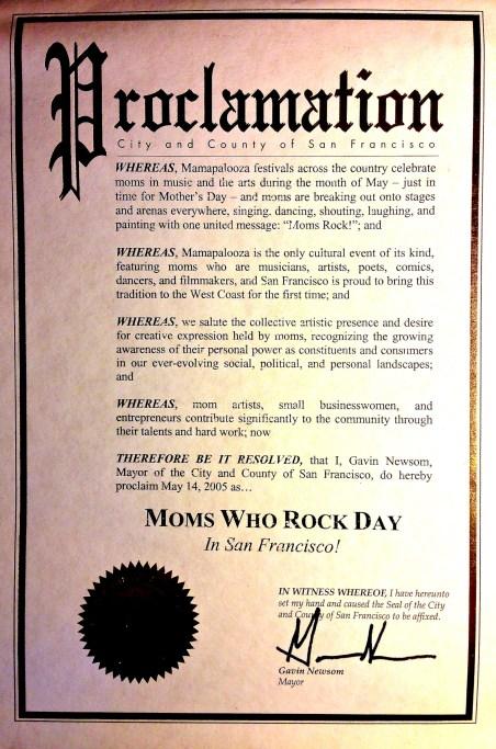 Moms Rock San Francisco