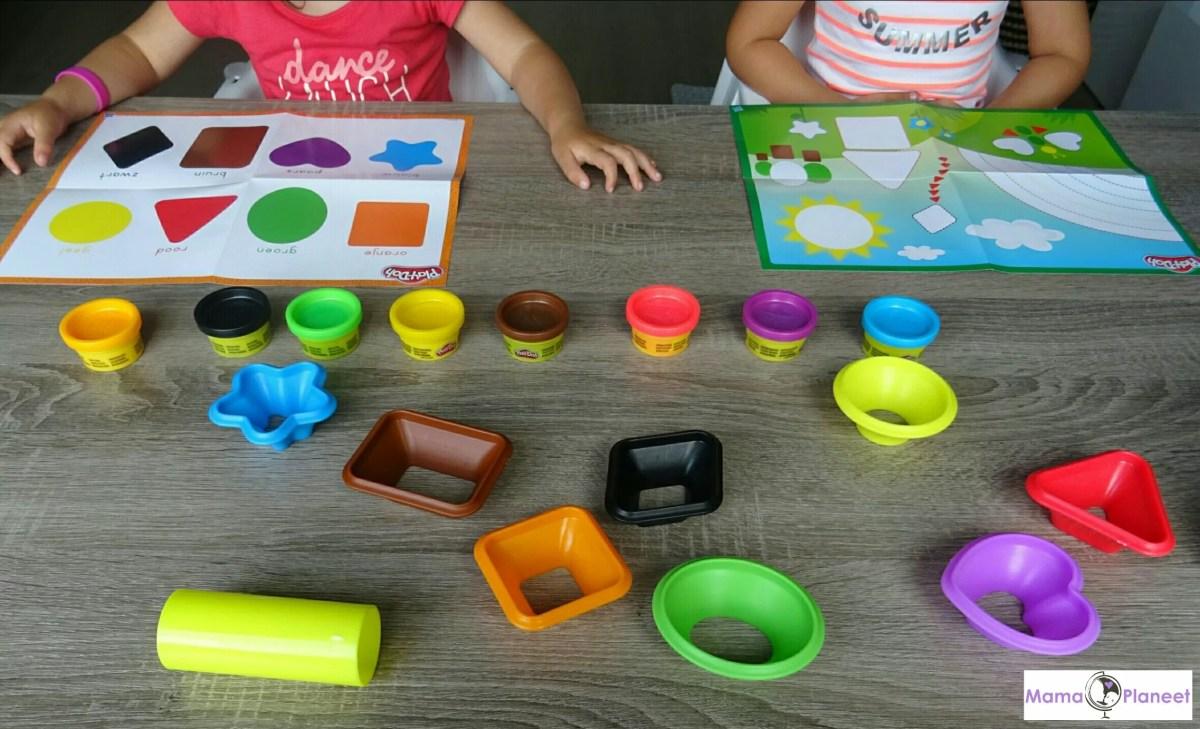 Review | Play-Doh Spelen & Leren - Kleuren & Vormen