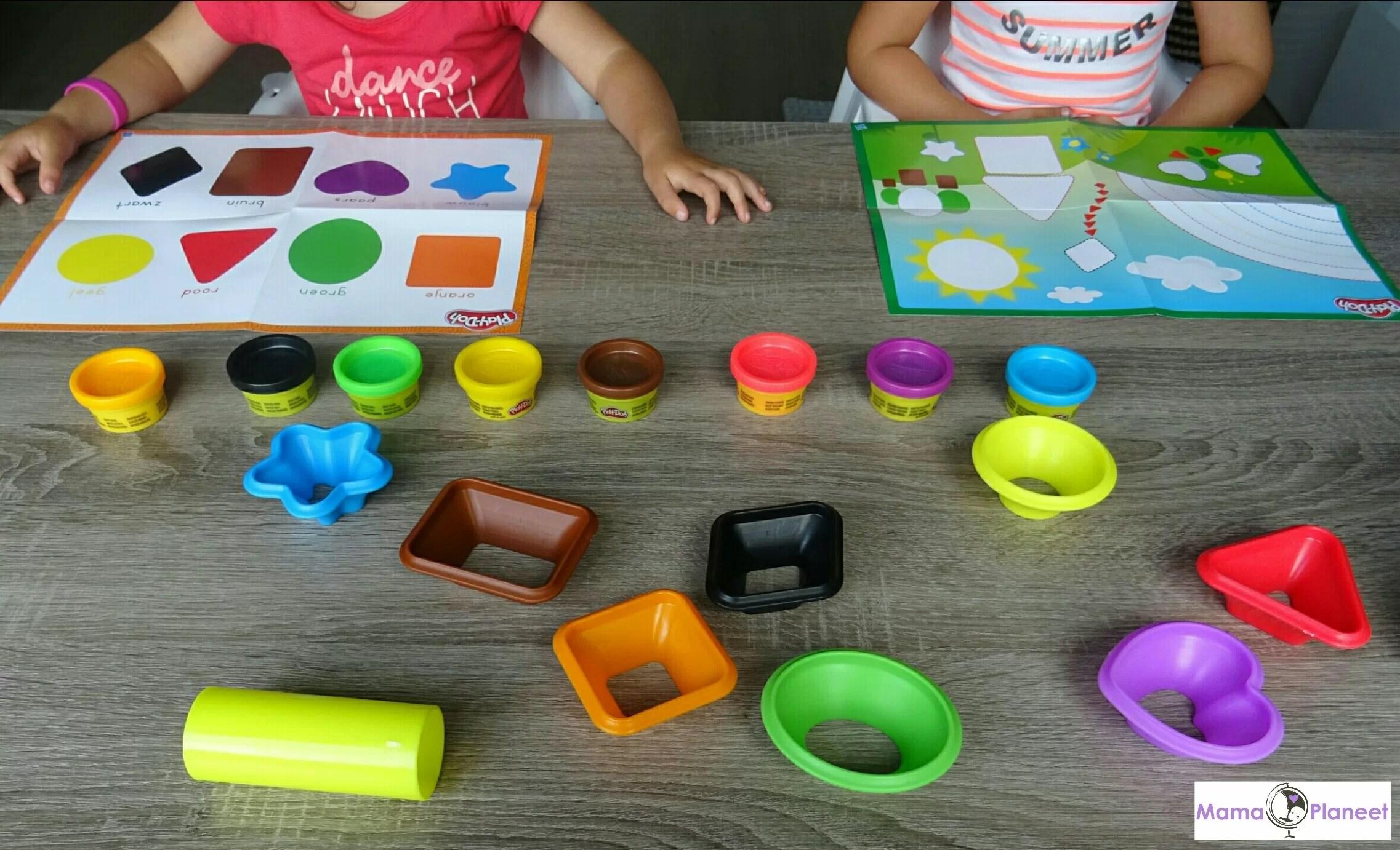 Play-Doh Spelen & Leren – Kleuren & Vormen