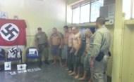 Skinheads são presos após agredirem nordestino em Niterói.