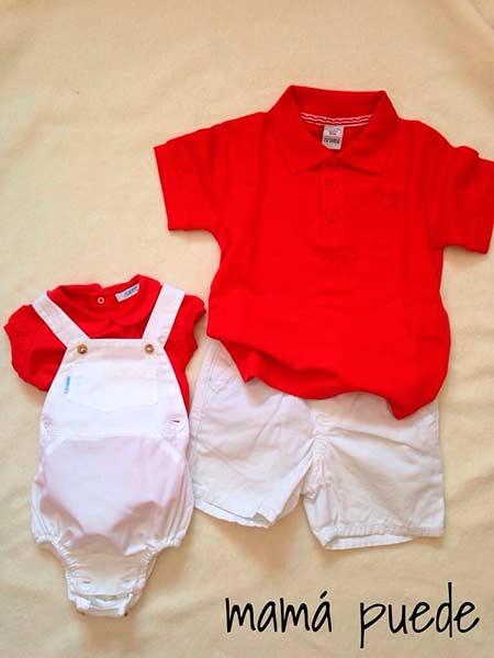 vestir a los hermanos iguales