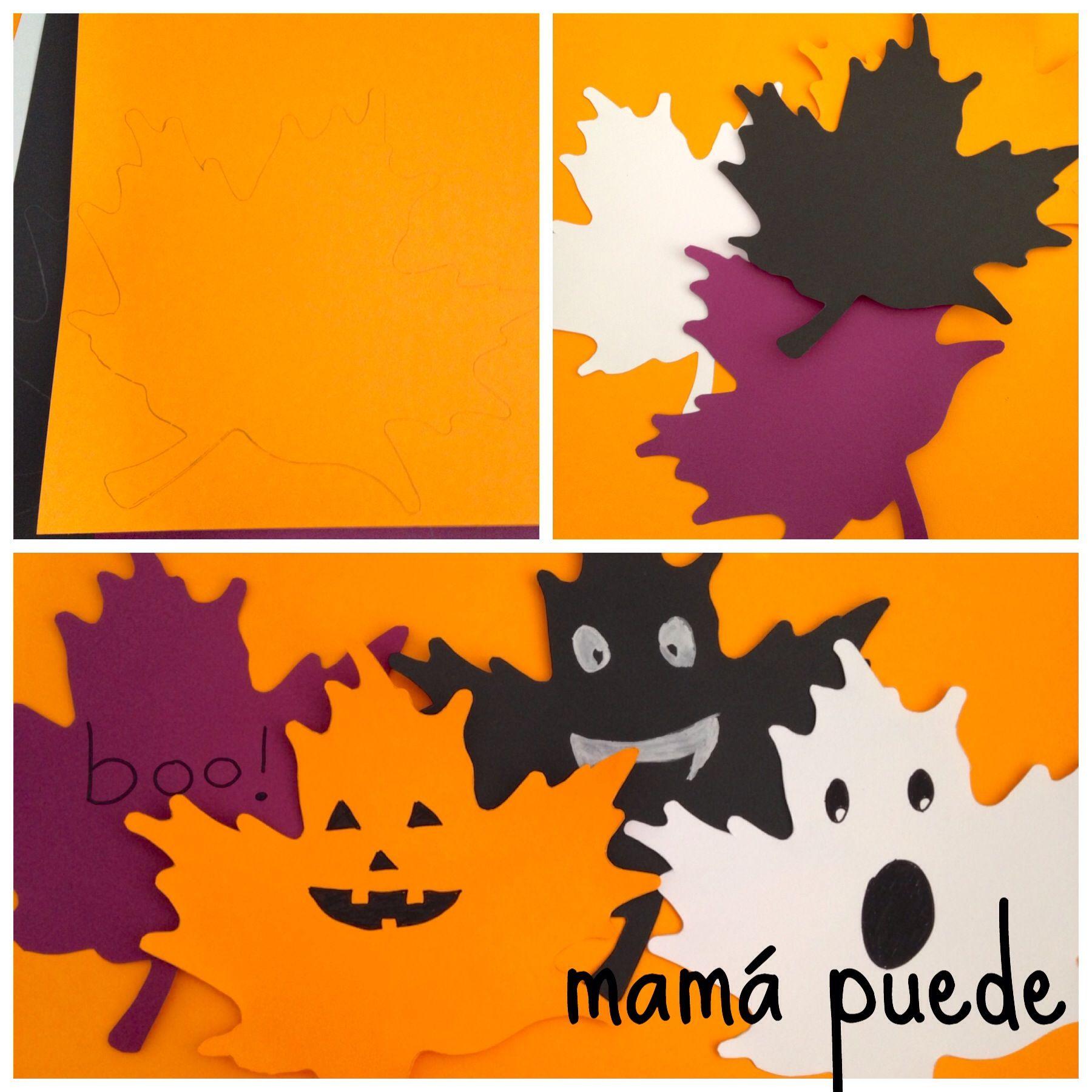 2 Manualidades Faciles Para Halloween Mama Puede