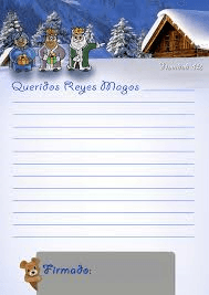 Carta a los Reyes Magos