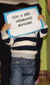 Voy a ser hermano mayor